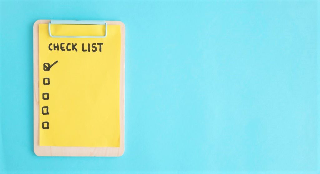 Why Should You Start Using a Checklist Right Now?